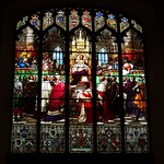 stained glass window, Parliament Hall