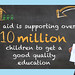 Education Infographic - UK aid - #LetGirlsLearn
