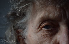Portrait of wisdom. (giorgiabruno) Tags: old ages age anno ancient roots wisdom portrait pic art face love suffer fight win direction life wrinkle grandmother mother picture capture essence myself carefully details nikon nikond3300 photography flickr photo professional style photooftheday