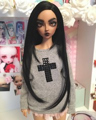 Sasha (L a l e t t e *) Tags: bjd abjd ball jointed doll fairyland feeple 60 feeple60 chloe tan sd alternative grunge