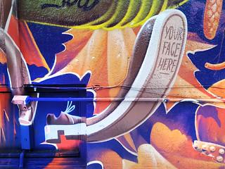 Mural (detail) by Tom HRVB - Montréal