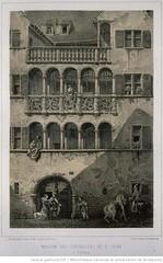 Maison des chevaliers de St. Jean à Colmar - 1860 (Maison de l'Alchimiste) Tags: colmar kolmar alsace 1860 chevalier