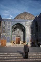 Sheikh Lotfollah Mosque, Isfahan, Iran (MeriMena) Tags: esfahan dome canon450d persia beautiful traditional lotfollah merimena mosque asia iran canon architecture travel