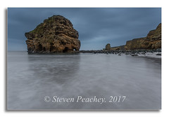 4:20am Alarm (Steven Peachey) Tags: seascape marsden marsdenrock rock northeastcoast northeastengland canon6d ef1740mmf4l lee09gnd southshields manfrotto coastline coast sky 2017 tide beach uk england le stevenpeachey leefilters rockformation lightroom longexposure lowlight canon marsdenbay southtyneside explored explore