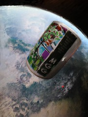 Time Capsule (flynryon) Tags: moon inspiration painterly abstract reflection mike mobile digital circle studio landscape paint surreal photographic nasa canvas abstraction organic cosmic ryon fingerpainted iphone emulate scumble fingerpainter ipainting iphoneart fingerpaintedit flynryon ipaintings iamda