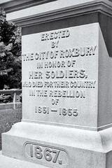 In Honor Of . . . (jores59) Tags: medalistii kodakmedalist 6x9 620film kodakfilm mediumformat jamaicaplain foresthillscemetery bostonma boston civilwarvets cemetery