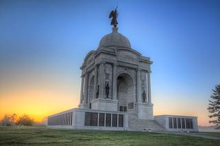 Pennsylvania Monument Sunrise