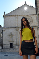 Valeria (Gianluca Ferrulli) Tags: summer sky italy sun art colors architecture lights amazing model eyes nikon italia magic puglia acquavivadellefonti puglialovers