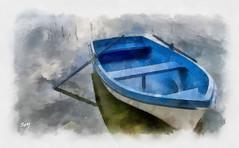 Banyoles_DAP_Aquarell (svet.llum) Tags: lago paisaje catalunya dap banyoles