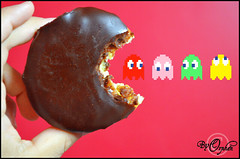 PacMan (Orphen 5) Tags: food pacman donuts ghosts dunkindonuts pacmanghosts tumblr
