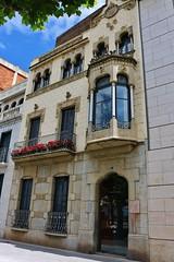 Faade d'immeuble ancien - Rosas - Espagne (de Provence et d'ailleurs) Tags: rosas espagne faade immeuble ancien