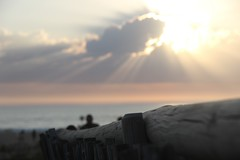 Ocean Sunset (Viictor B) Tags: ocean wood light sunset red sky woman cloud sun storm love water beautiful beauty smile yellow sunrise canon wonderful photography twilight eyes sand women couple exposure surf waves heart surfer gorgeous hossegor skirt capture biarritz surfur