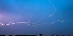 Lightning in Live Time with E-M10 (archangel 12) Tags: rain lightning olympusmzuiko1442mmf3556iir olympusomdem10