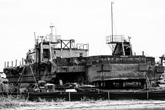 Panama (Stik-n-String) Tags: old island boat ship florida panama shipyard barge merritt