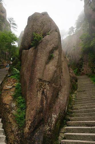 Steps up Huangshan