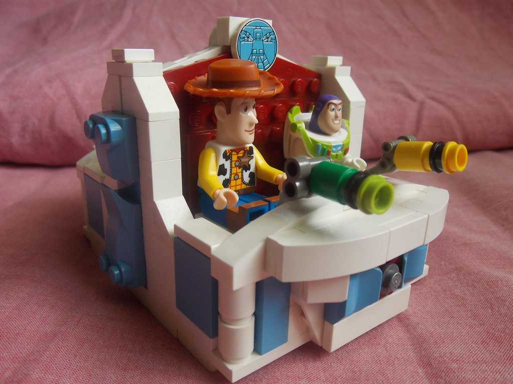 The world 39 s most recently posted photos of buzz and zurg - Lego toys story ...