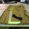 Bunker gear Alt.Kilt with black belt going to NY. http://www.altkilt.com/fireman