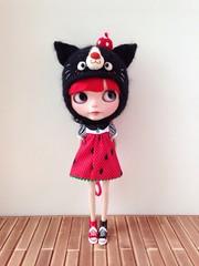 【toome_blythe】Black kitty