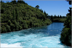 Huka Falls (Peter Heuts) Tags: 2003 new newzealand 2004 canon island photography fotografie south north zeeland falls powershot peter zealand northisland southisland s50 neuseeland huka nieuwzeeland nieuw heuts peterheuts