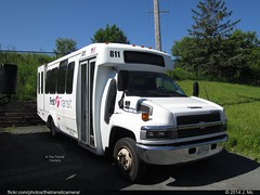 First Transit 811 (TheTransitCamera) Tags: chevrolet body first transit shuttle chassis minibus cutaway goshen 2014bushistoryassociationconvention