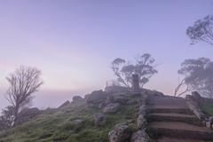When Venus Meets Apollo (EggHdz) Tags: york fog venus foggy australia wa apollo westernaustralia touristattraction risingsun phosphorus mountbrown