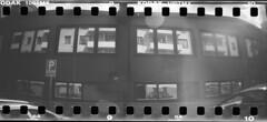 garage (rotabaga) Tags: blackandwhite bw gteborg diy lomo lomography sweden gothenburg sverige tmax100 sprocket svartvitt sprocketrocket sprocketography bwfp