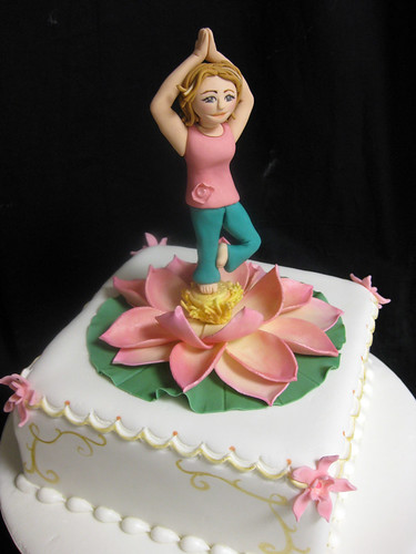 Yoga Lotus Cake