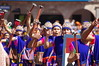 Inti Raymi 2014, Cusco, Peru (ARNAUD_Z_VOYAGE) Tags: plaza city costumes sunset people music food sun peru colors june festival inca america de religious la colorful aya view place mask pentax god cusco armas south year ceremony southern most celebrations empire sharing andes ritual 24 woven tradition vega cultures inti sapa important origin huma indigenous incas ceremonies hemisphere pachamama mythical raymi kx processions dances 2014 garcilaso pachacuti haukaypata