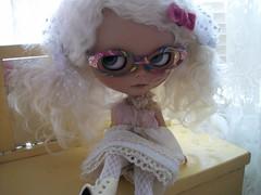 Oh Salina! So pretty in white....