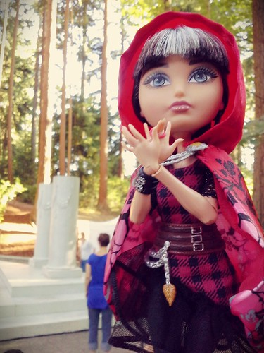 Cerise in the woods