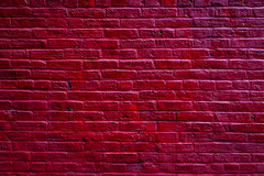 Red Wall (justingreen19) Tags: nyc red urban usa ny newyork abstract texture lines wall america painting march diy pattern unitedstates vibrant background bricks brickwall homeimprovement doityourself redbricks paintedwall handywork redbackground 2013 urbanred justingreen19 justingreenphotographyjustingreen19