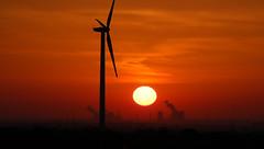 Sonnenaufgang in der Kölner Bucht