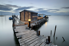 The Corner House (CResende) Tags: wood longexposure seascape portugal water colors night lights setubal nikkor carrasqueira d800 16355 cresende