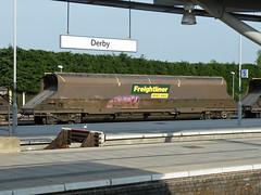 370161 Derby 160713 (Dan86401) Tags: wagon fl 370 coal hopper derby freight bogie hha freightliner flhh heavyhaul 4e56 370161