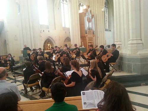 Concert at Douai Abbey