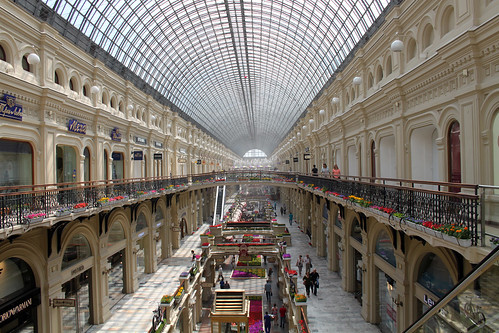 Gum department store, Moscow by flowcomm, on Flickr