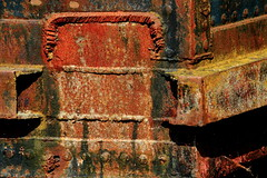 barge 118 (Glassholic) Tags: abstract color colour texture rust rusty couleur abstrait graphism