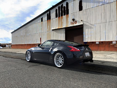 "WORK XSA04C on Nissan 370Z • <a style=""font-size:0.8em;"" href=""http://www.flickr.com/photos/64399356@N08/14751555240/"" target=""_blank"">View on Flickr</a>"
