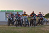 RBL - LIGHTS OUTS (mark_rutley) Tags: city sunset urban wwi motorbike motorcycle portsmouth worldwarone bikers portchester rbl royalbritishlegion lightout micksmonsterburger portchesterhill