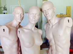 Took a half day off from work (DollAddict) Tags: mannequin michael mannequins monica hugo rootstein dashndazzle