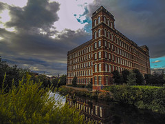 anchor mill (NoOneLikeMe78) Tags: reflection mill reflections reflecting scotland sony reflect anchor paisley rivercart renfrewshire marilynconnor