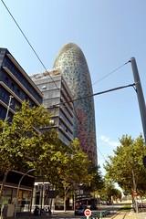 TORRE GLÒRIES (abans TORRE AGBAR) (Yeagov_Cat) Tags: torreagbar torre agbar barcelona catalunya diagonal avingudadiagonal jeannouvel 2005 b270 torreglòries glòries