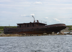 Graham Bell Tugboat (PhotoGizmo) Tags: manitoba churchill tugboat hudsonbay grahambell