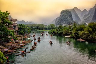 The Yulong River.  China