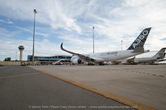 A350XWB Taxiing to T1 (Plane Crazy Down Under) Tags: perth airbus a350 a350xwb a350xwbtour