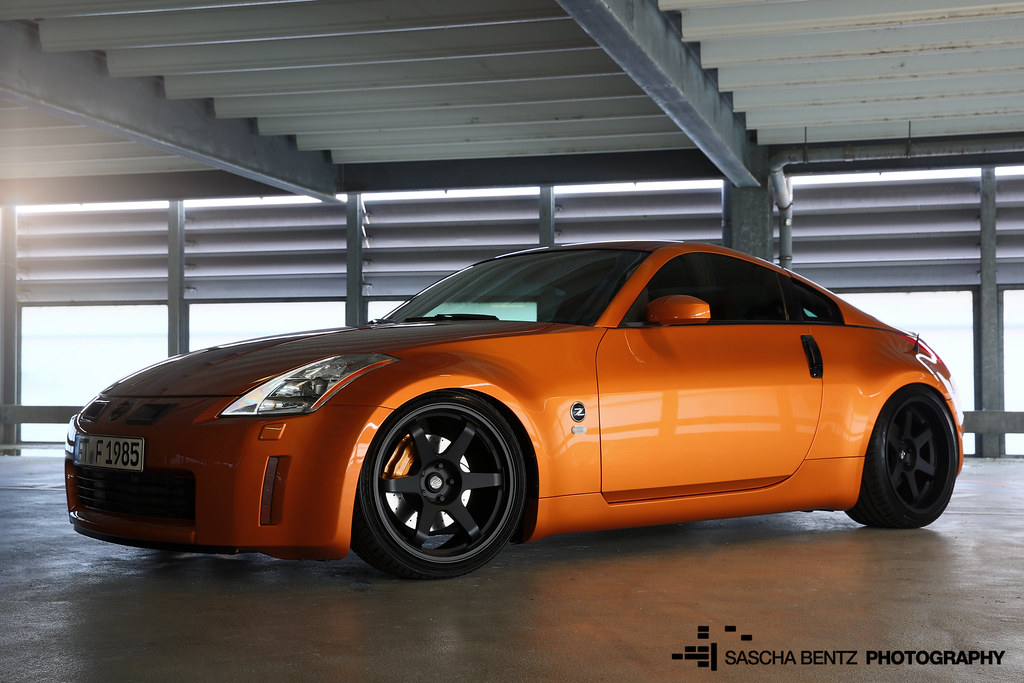 Nissan 350Z ATI Procharger (Sascha Bentz) Tags: Japan Germany Japanese  Nissan Power Low