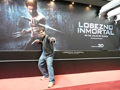 Lobezno Inmortal (neomanox) Tags: barcelona internacional marvel wolverine saln cmic lobezno 2013 adamantium inmortal