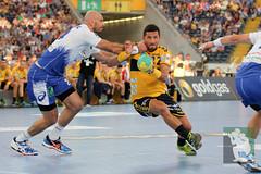 "DKB DHL15 Rhein-Neckar-Löwen vs. HSV Handball 06.09.2014 051.jpg • <a style=""font-size:0.8em;"" href=""http://www.flickr.com/photos/64442770@N03/14982652928/"" target=""_blank"">View on Flickr</a>"
