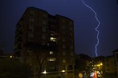 Storm on Casal Bernocchi III (paoloricciotti) Tags: storm roma canon photography eos photo foto lightning fotografia digitalphotography fulmini 100d fotografiadigitale casalbernocchi fotografiitaliani canoneos100d casalberocchi