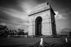India Gate (Ashmalikphotography) Tags: longexposure travel canon blackwhite shadows delhi indiagate freedomfighters